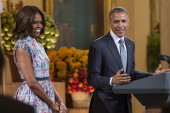 LIVE VIDEO: Obamas host Special Olympics...