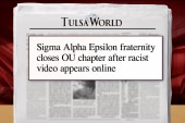 Frat closes chapter after racist video...