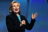 LIVE VIDEO: Hillary Clinton on legal services