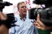 LIVE: Bush holds New Hampshire town hall