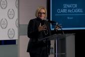Sen. McCaskill: 'Ambition is ladylike'