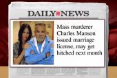Mass murderer gets a marriage license