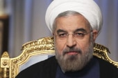 EXCLUSIVE: Iran president Rouhani says...