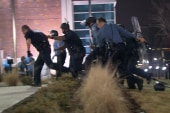 'Very real, very scary': Two officers shot