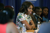 LIVE VIDEO: Michelle Obama on 'Joining...