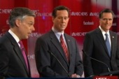GOP candidates spar in New Hampshire