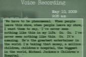 Recording of slurring Jackson released at...