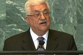 Abbas pushes for recognition, Netanyahu...
