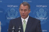 Boehner falls in line on Obamacare