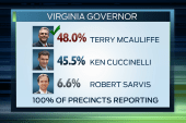 'Blue' clues in Virginia election