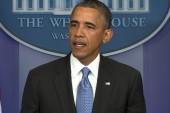 President Obama's surprise speech on...