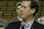 Santorum dominates 2012 culture wars