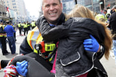 Boston says goodbye to bombing victims...