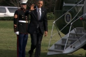 Obama trip to Conn., filibuster mark...