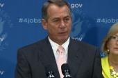 Boehner, GOP bring out debt ceiling fight...