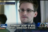 Top Lines: Snowden's 'Doomsday' cache