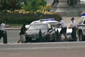 Footage of Capitol Hill shooting suspect...