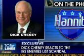 Top Lines: Boehner, Cheney, Colbert,...