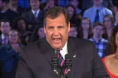 Hillary's lead and Christie's achilles' heel