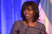What First Lady Obama's powerful remarks...