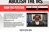 Cruz's 'Abolish the IRS!' club gets new...
