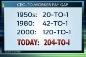 Rising CEO-to-worker pay gap another...