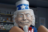 'Creepy' Uncle Sam vs. Obamacare