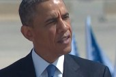 Obama arrives in Israel to questions about...
