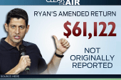 Bashir: Ryan no numbers guy on his own tax...