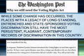 Why the Voting Rights Act must be upheld