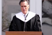 Mitt Romney delivers commencement wisdom