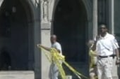 National Cathedral damaged by quake