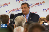 Top Lines: Christie, Lonegan, health care,...