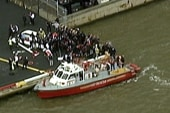 Helicopter crashes into NYC's East River