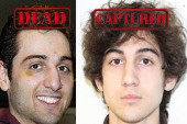 Suspected Boston bombers first targeted...