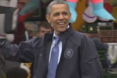 Obama's return to Jersey Shore shows he's...