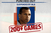 Alex Rodriguez suspended by MLB