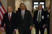 Obama meets with Congressional Democrats