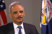 Eric Holder goes one-on-one with Ari Melber