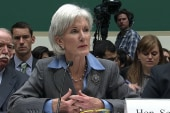 Sebelius grilled on health care site issues