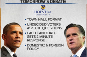 Political crunch time ahead of next debate