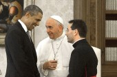 Obama's 52-minutes with Pope Francis