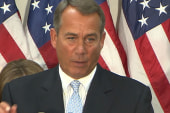Boehner tells Republicans to fall in line