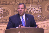 Chris Christie tries to win back the right