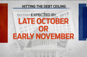 U.S. may hit debt ceiling in October