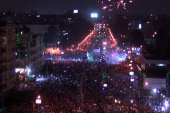 Celebration erupts as military ousts Morsi