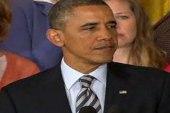 Obama gun remarks: An attempt to breathe...