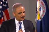 Eric Holder welcomes new voting rights bill
