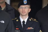 Reactions divided on Bradley Manning...
