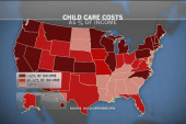 When child care costs more than college